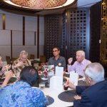 The Pinnacle Club delegation enjoying local delights at Chatterbox, Mandarin Orchard