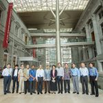 The Pinnacle Club delegation vists the National Gallery Singapore