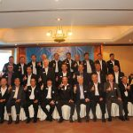 Group photo of the representatives from the Chaturamit Mongkon Elite Group, China Association for International Friendly Contact, EastWest Institute and the Pinnacle Club of Asean